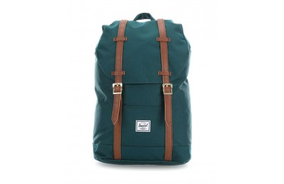 Black Friday 2020 Herschel Classic Retreat Mid-Volume Laptop-Rucksack 13″ Polyester petrol Verkauf